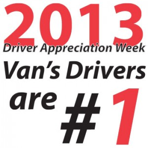 National Driver Appreciation Week